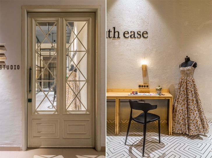 """entrance ease boutique the spatium interiors indiaartndesign"""