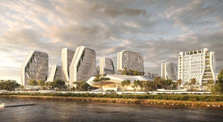 """waterfront karle town centre bengaluru UNStudio indiaartndesign"""