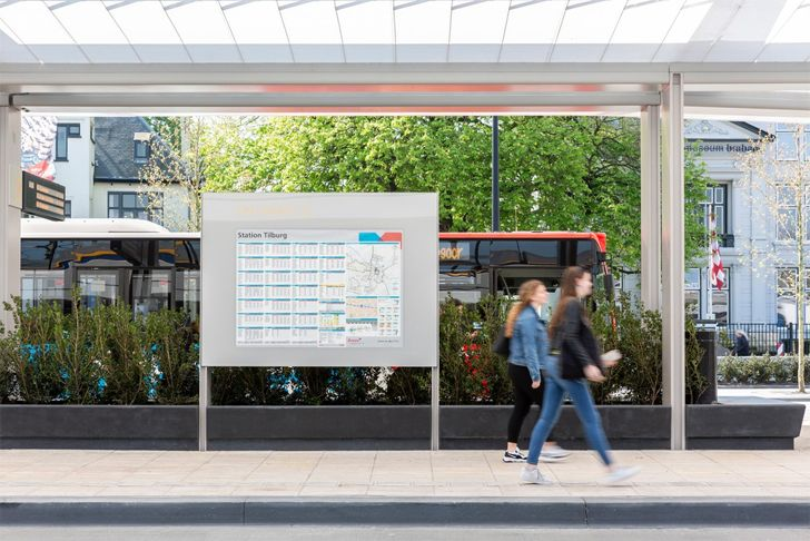 """bus stop bus station Tilburg cepezed design studio indiaartndesign"""