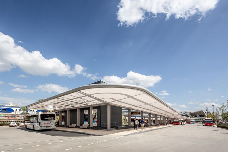 """overview bus station Tilburg cepezed design studio indiaartndesign"""