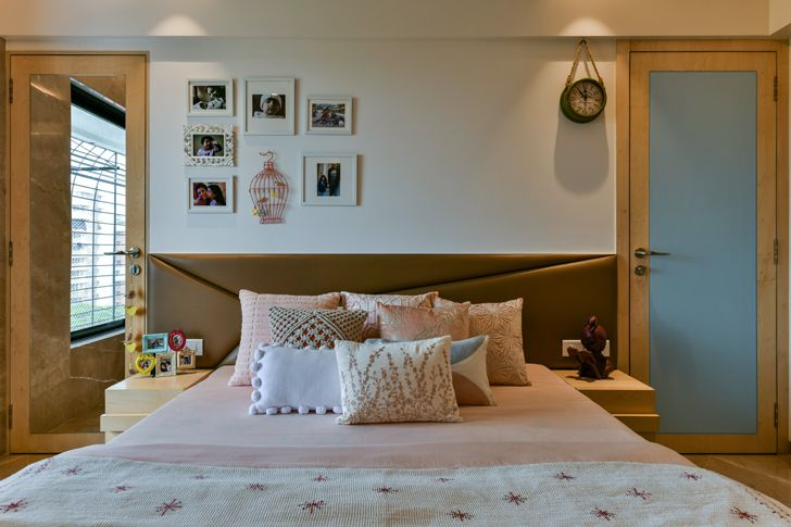 """bedroom decor SNHouse Aum Architects indiaartndesign"""