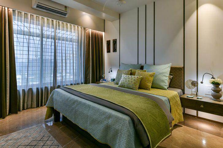 """luxurious bedroom SNHouse Aum Architects indiaartndesign"""