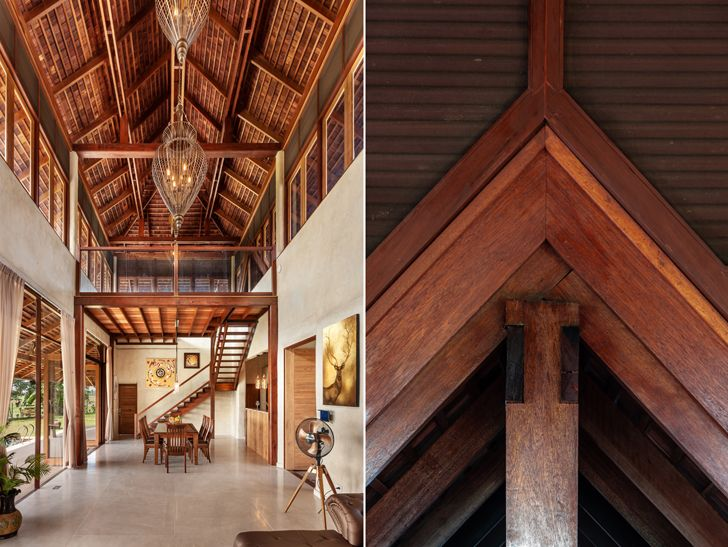 """interior and detail Earth & Wood Villa by Chiangmai Life Architects thailand indiaartndesign"""