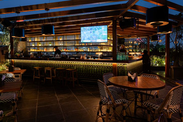 """bar Sutra gastropub Chromed Design Studio indiaartndesign"""