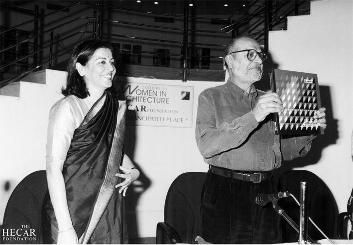 """book release Women in architecture 2000 hecar foundation brinda somaya indiaartndesign"""