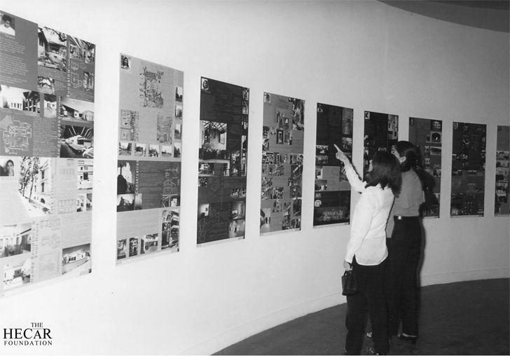 """exhibition Women in architecture 2000 hecar foundation brinda somaya indiaartndesign"""
