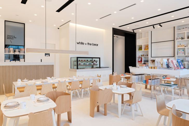 """White and the Bear kids restaurant sneha divias atelier indiaartndesign"""