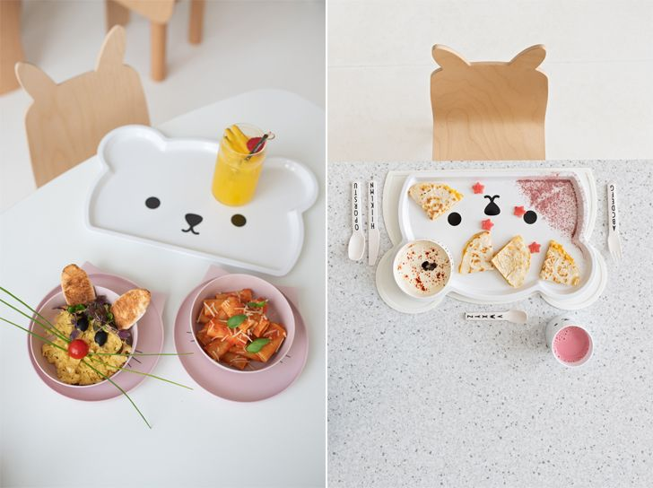 """kids menus White and the Bear kids restaurant sneha divias atelier indiaartndesign"""