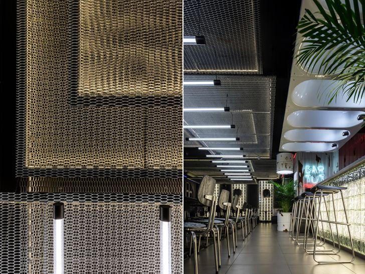 """""""metal mesh detail kofan sergey makhno architects indiaartndesign"""""""