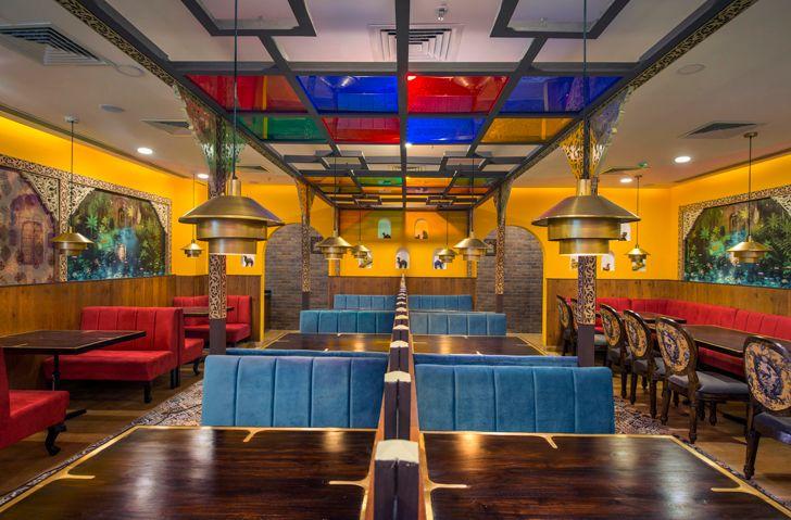 """overview manbhavan restaurant sankraman architects indiaartndesign"""