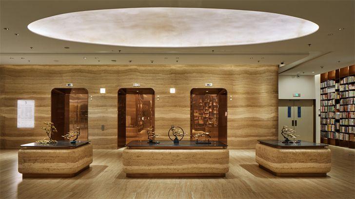 """entrance lobby Yan Bookstore Shenzhen Tomoko Ikegai indiaartndesign"""