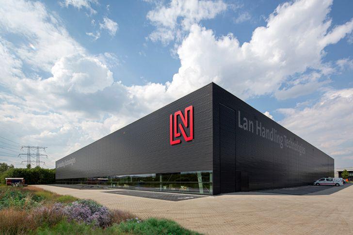 """facade Lan-Handling Technologies studio cepezed indiaartndesign"""