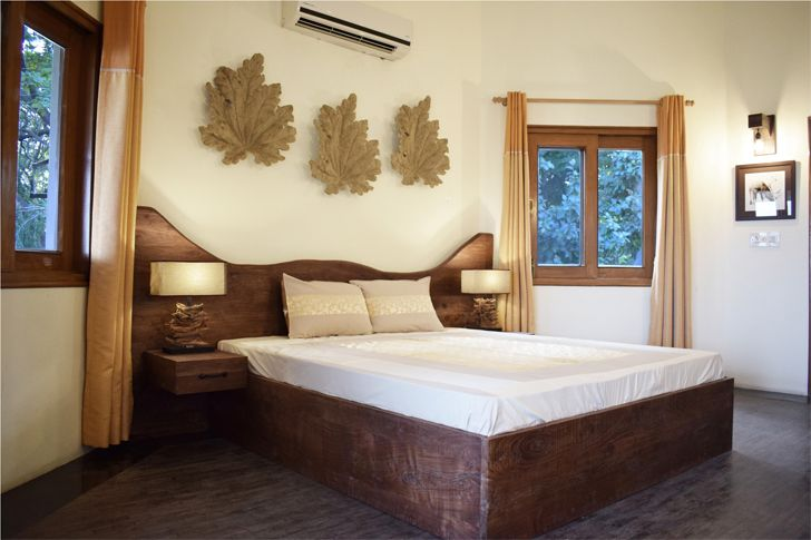 """bedroom kalesar jungle house layers studios for architecture and design indiaartndesign"""