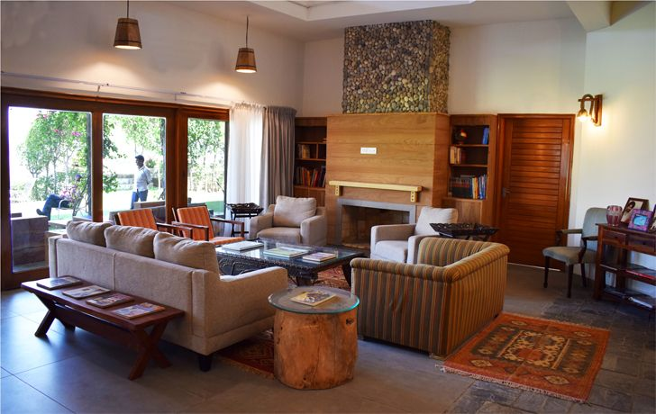 """living room kalesar jungle house layers studios for architecture and design indiaartndesign"""