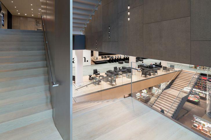 """blade stair and retail stair MoMA Diller Scofidio+Renfro gensler indiaartndesign"""