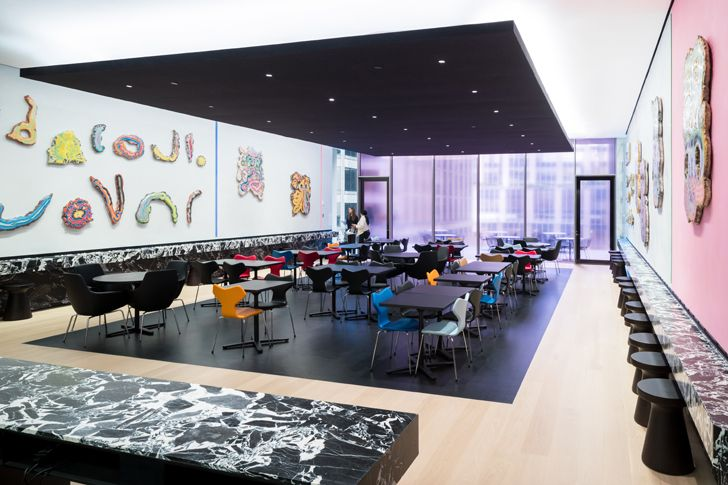 """""""sixth floor cafe MoMA Diller Scofidio+Renfro gensler indiaartndesign"""""""