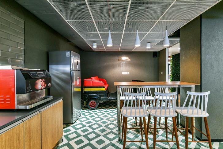 """""""cafeteria Bosch HQ Studio N cube indiaartdesign"""""""