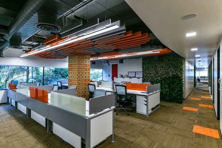 """colourful interiors Bosch HQ Studio N cube indiaartdesign"""