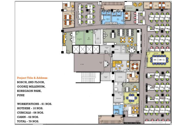 """layout Bosch HQ Studio N cube indiaartdesign"""