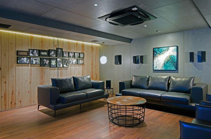 """Living the art of sound sharan arch design studio indiaartndesign"""