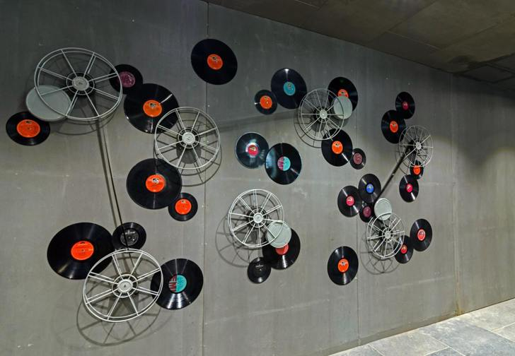 """""""art from records the art of sound sharan arch design studio indiaartndesign"""""""