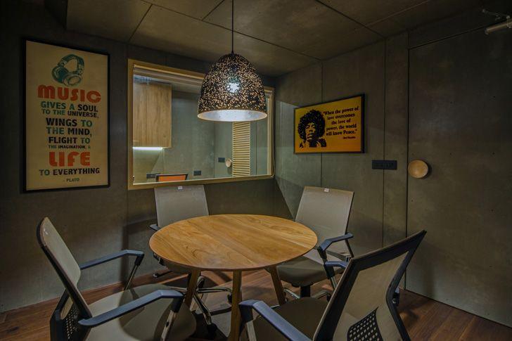 """meeting room the art of sound sharan arch design studio indiaartndesign"""
