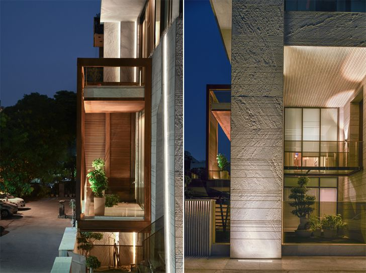 """architectural details bungalow new delhi atrey and associates indiaartndesign"""