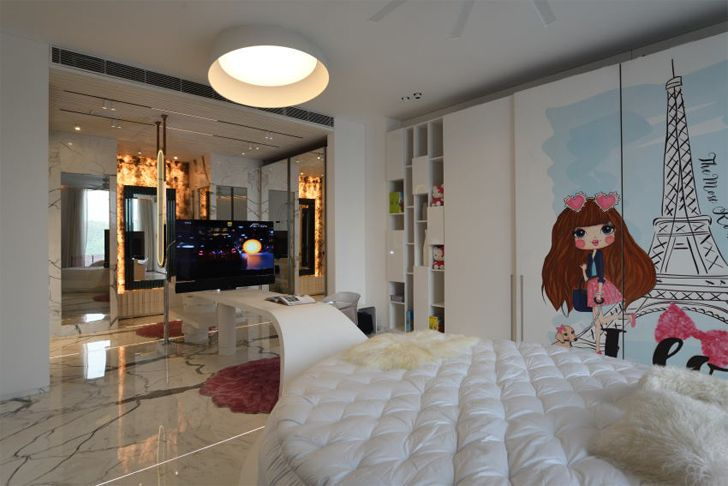 """childrens room bungalow new delhi atrey and associates indiaartndesign"""
