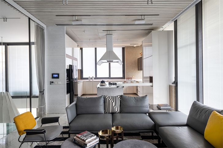 """living area bungalow new delhi atrey and associates indiaartndesign"""