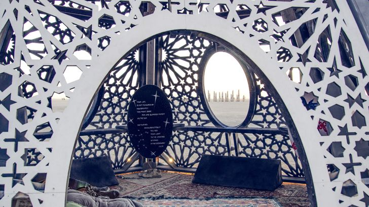 """burning man festival andromeda reimagined indiaartndesign"""