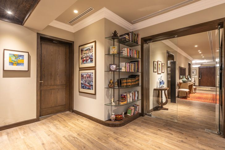 """""""view from entrance Lutyens residence Creative Design Architects indiaartndesign"""""""