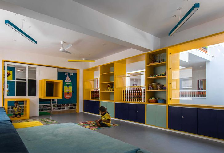 """activity zone toy story play school collage studio indiaartndesign"""