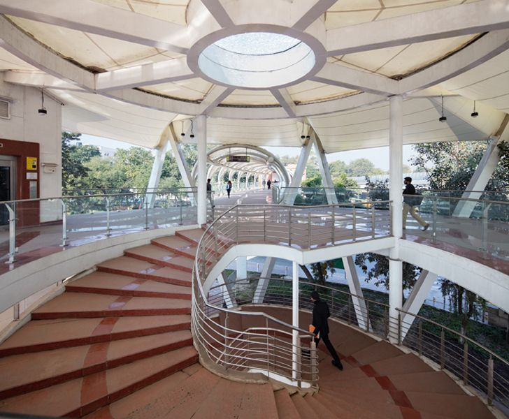 """DFI ITO skywalk new Delhi indiaartndesign"""