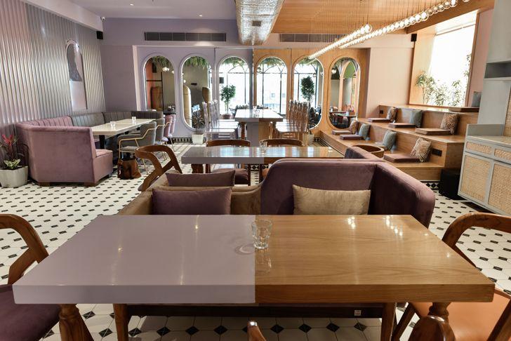 """diner detail Eleven 11 restaurant sanya kantawala design indiaartndesign"""