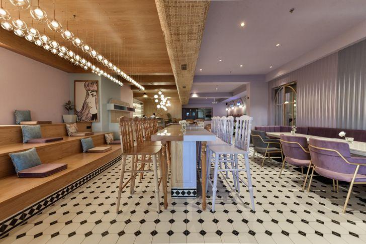 """overview Eleven 11 restaurant sanya kantawala design indiaartndesign"""