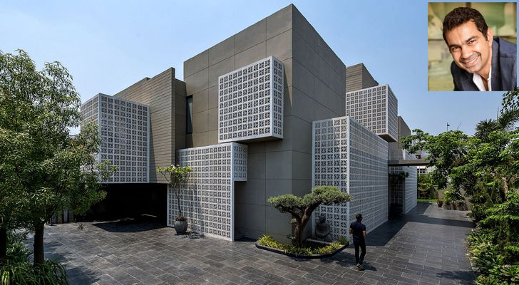 """18 screens residence sanjay puri architects indiaartndesign"""