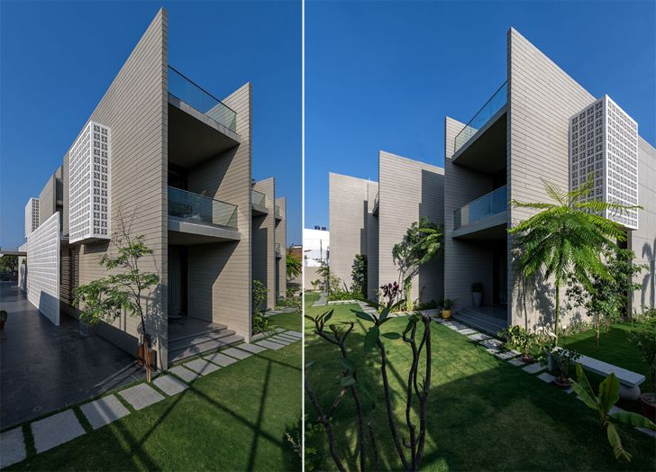 """north east and north west views 18 screens residence sanjay puri architects indiaartndesign"""
