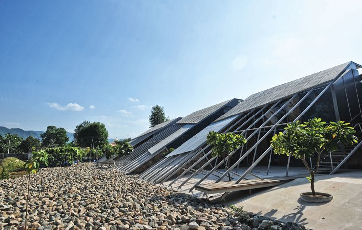 """lightweight steel roof Mana Ranakpur Akshat-Bhatt Nostalgia Indiaartndesign"""