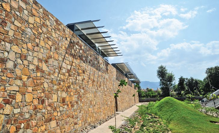 """masonry walls Mana Ranakpur Akshat-Bhatt Nostalgia Indiaartndesign"""