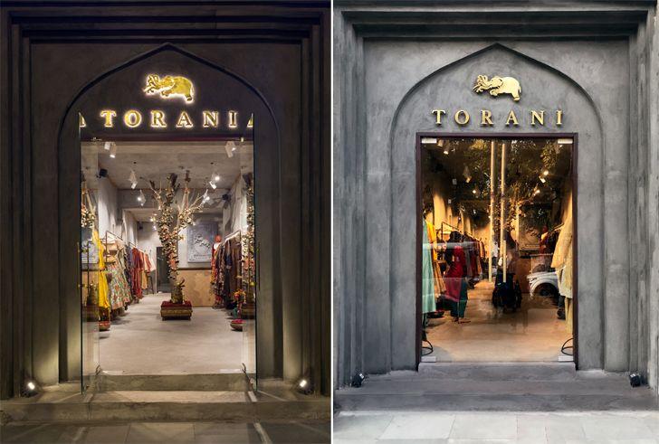 """facade Torani Flagship BoraDaDesigns indiaartndesign"""