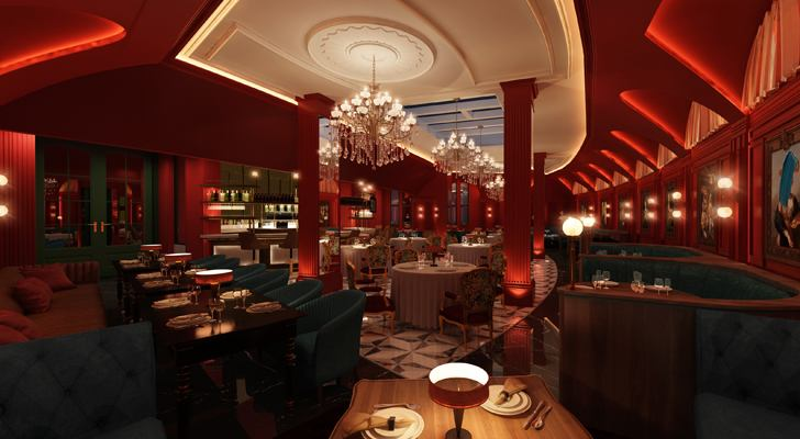"""Ophelia restaurant TheAshok ChromedDesignStudio indiaartndesign"""