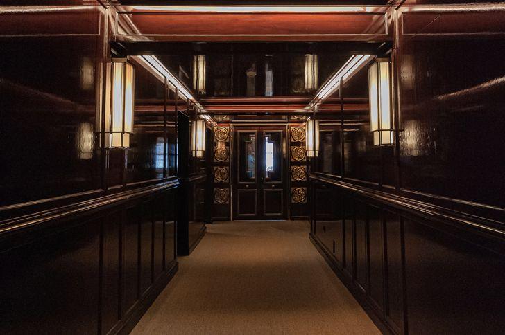 """entrance corridor Dragon Restaurant istanbul GEO-ID+MahmutAnlar indiaartndesign"""