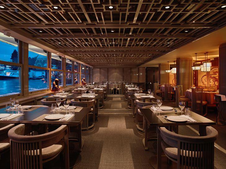 """geometric ceiling Dragon Restaurant istanbul GEO-ID+MahmutAnlar indiaartndesign"""