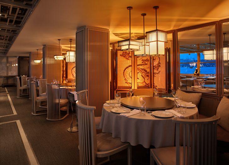 """linear view interiors Dragon Restaurant istanbul GEO-ID+MahmutAnlar indiaartndesign"""