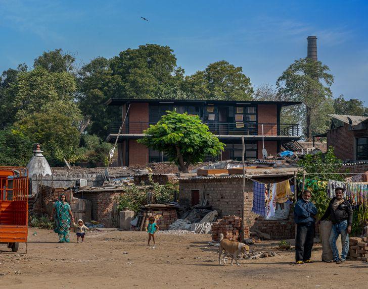 """ManavGulzar community centre ArchitectHirenPatel Nostalgia indiaartndesign"""