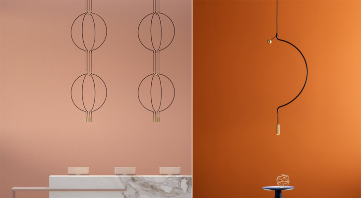 Minimalist light fittings