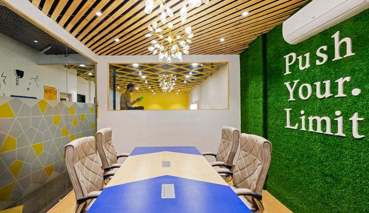 """conference room BHive 11 coworking space Studio Bipolar indiaartndesign"""