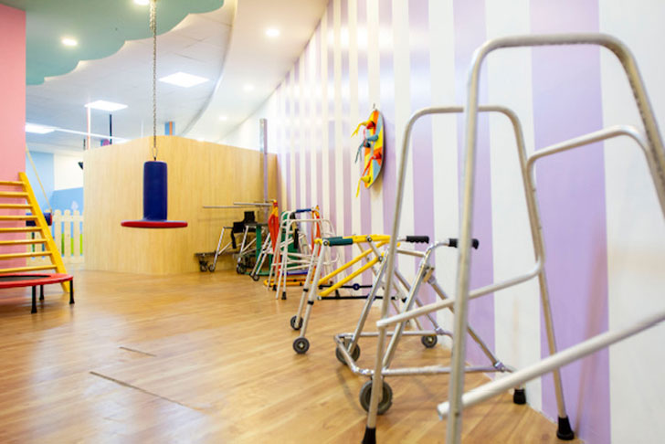 """rainbow childrens hospital therapy spaces kajal gaba indiaartndesign"""