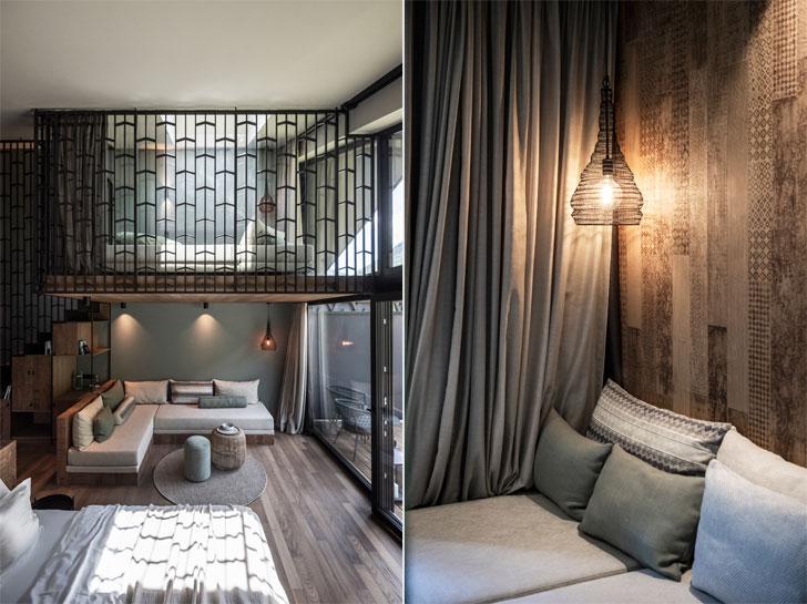 guest suite Apfelhotel Torgglerhof NetworkOfArchitecture indiaartndesign