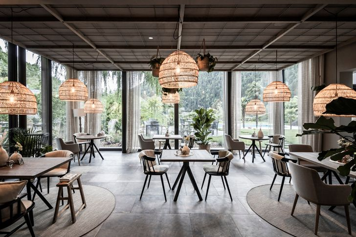 """restaurant Apfelhotel Torgglerhof NetworkOfArchitecture indiaartndesign"""